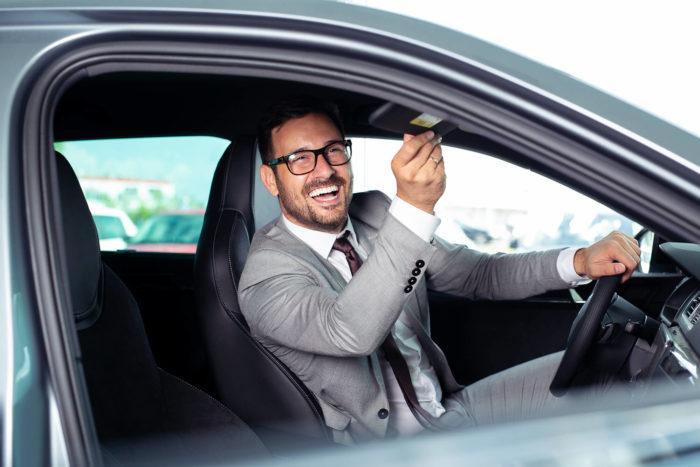 Inleveren van de leaseauto