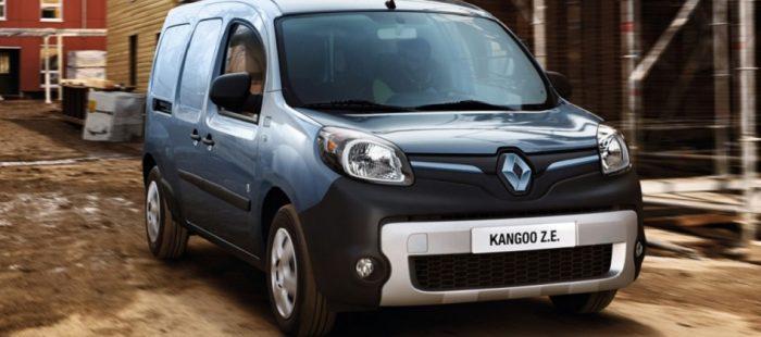 Renault Kangoo Z.E. 33 KwH